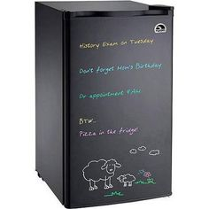 Special Offers - Cheap Igloo Black Eraser Board Refrigerator 3.2 cu ft with Reversible Door - In stock & Free Shipping. You can save more money! Check It (January 07 2017 at 11:41AM) >> http://standmixerusa.net/cheap-igloo-black-eraser-board-refrigerator-3-2-cu-ft-with-reversible-door/