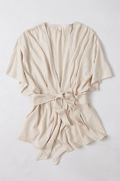 draped kimono sweater by Moth