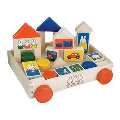 Miffy building block car (japan import): Amazon.co.uk: Toys & Games