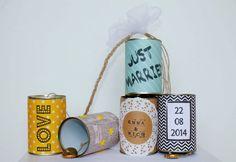 Wedding Cans  Autoschmuck aus Dosen zur Hochzeit by deborina030
