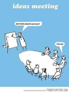 Ideas Meeting…
