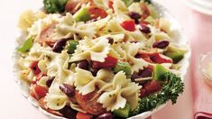 Combine the best ingredients from everyone's favorite Italian soup to create a spectacular pasta salad.