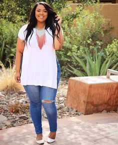 Looks plus size, plus size model, moda plus size, plus size girls, Girl Outfits, Casual Outfits, Cute Outfits, Fashion Outfits, Summer Outfits, Fashion Ideas, Summer Clothes, Ladies Outfits, Casual Clothes