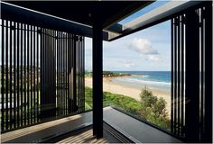 Modern Dream Homes : Freshwater House by Chenchow Little Architects Front Yard Fence, Fenced In Yard, Farm Fence, Dog Fence, Fence Landscaping, Backyard Fences, Home Fencing, Little Architects, Australian Beach