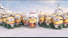 The minions took a little time out from evil doing to wish you a merry Christmas. And their goofy version of jingle bells had me cracking up. And you gotta love that sweater! Which minion was your favorite, tell us in the comment section below! The Christmas Song, Funny Christmas Videos, Minion Christmas, Christmas Messages, Christian Christmas, Christmas Quotes, Christmas Music, Christmas Carol, Christmas Movies