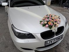 Wedding Car Decoration Mercedes Recherche Google