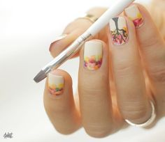 cool Tuto Nail art // Welcome l'Automne !
