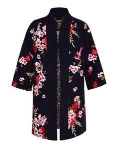 Ted baker Aurian Bird and Blossom Kimono House Of Fraser, Kimono Top, Floral Kimono, Kimono Jacket, Gift Guide, Women Wear, Ted Baker, How To Wear, Gifts