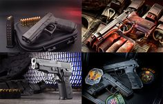 Rounding up some of the best new and battle-proven #tactical #pistols available on the market—from #9mm and 5.7x28mm to .45 ACP!