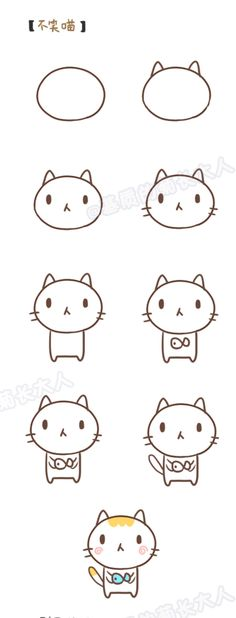 How to draw a meow, give you a fish.  Ju @ matrix grew from people