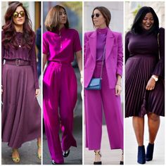 Dressy Casual Outfits, Chic Outfits, Fashion Outfits, Purple Fashion, Look Fashion, Autumn Fashion, Cool Winter, Merian, Purple Outfits