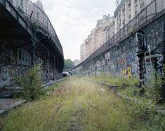 La voie ferrée de Petite Ceinture de Paris train petite ceinture paris rail fer chemin 04