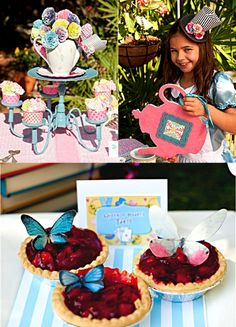 Alice in Wonderland Mad Hatter Tea Party Ideas & Printables