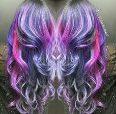 Nebulae – Galaxy Hair Colors