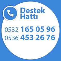 Aklınıza takılan tüm sorular için, herzaman araya bileceğiniz telefon numaralarımız. 0532 165 05 96 0536 453 26 76