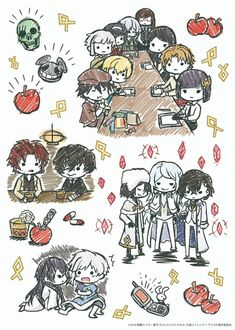"""since everyone seems to like the new bsd graff art, i digged a little and found these cuties"" Bungou Stray Dogs Wallpaper, Dog Wallpaper, Dazai Bungou Stray Dogs, Stray Dogs Anime, Bungou Stray Dogs Characters, Anime Characters, Diabolik Lovers, Dog Boarding, Dog Memes"