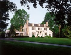 Ken Tate Architect - A New American Colonial House in Nashville