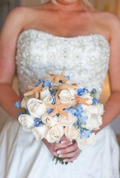 Bouquet matrimonio in spiaggia