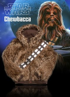 """Consider Chewy the inventor of the """"furry fresh"""" look. #Ecko #StarWars"""