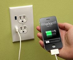 USB Wall Outlet - $25
