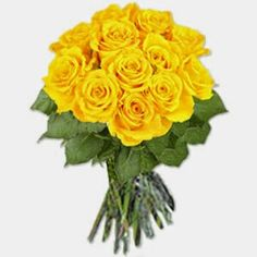 """This """"Dark Yellow Rose Bouquet One dozen large brilliantly dark yellow roses! Fresh off the garden we retained its stem to ensure prolonged life. Is a perfect gifts for any occasions that you planned together with your loved ones her in the Philippines, You can now send this lovely one dozen Yellow roses to your Family or Friend. http://www.regalomanila.com"""