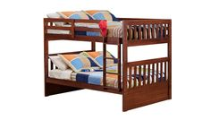 Slumberland Furniture - Knollwood Collection - Chocolate Full/Full Bunk Bed - Slumberland Furniture Stores and Mattress Stores