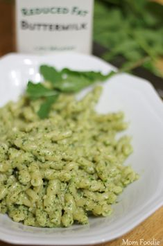 Creamy Light Arugula-Basil Almond Pesto Recipe (Cooking from the Garden) - Mom Foodie - Blommi