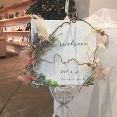 牧 美幸さんはInstagramを利用しています:「キャンバスにペンキを塗りたくって大好きなドライフラワーたちで手作りしたウェルカムボード #wedding#weddingparty#flower#diyflower#結婚式#ウェルカムボード#スモークツリー#花のある暮らし#ドライフラワー#花嫁diy#キャンバス#パンパスグ…」