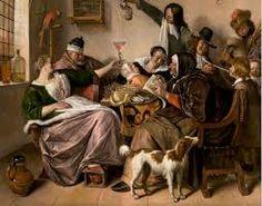 Hier komt een lesidee / verwerkingsopdracht over het hondje in de schilderijen van Jan Steen