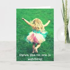 Little Girl Dancing, Little Girls, Dance Like No One Is Watching, Tiny Dancer, Card Sizes, Gender, Age, Group, Unisex