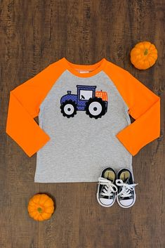Halloween - Sparkle In Pink Toddler Boy Fashion, Toddler Outfits, Toddler Boys, Boy Outfits, Children Outfits, Halloween Outfits, Halloween Kids, Stylish Baby Boy, Vintage Tractors