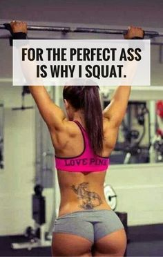 10 benefits of squats for women. It's not just for the perfect ass.  #fitness #workout #health
