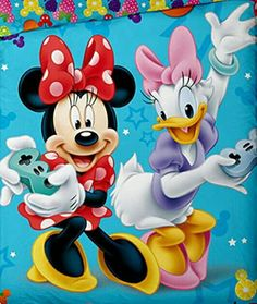 Minnie Mouse ❤ and Daisy Duck