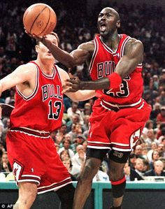 Leave it to me: Jordan has his eyes for the basket