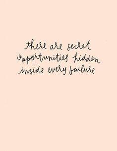 Secret Opportunities
