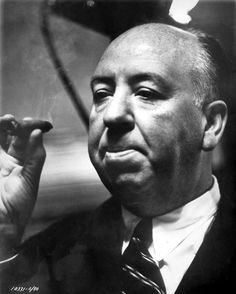 Alfred Hitchcock and Cigar! S)