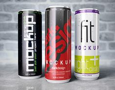 """Check out new work on my @Behance portfolio: """"Energy drink can mockup"""" http://be.net/gallery/35027697/Energy-drink-can-mockup"""