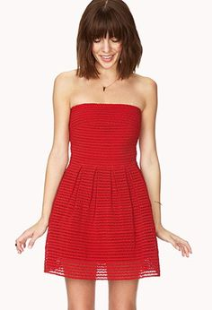 Standout Fit & Flare Dress   Forever 21 - 2000066478