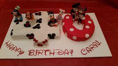 40th Disney cake