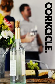 Corkcicle maintains chilled white wines and cools room temperature reds Simple to use, freeze and place in bottle Made from BPA-free plastic and non-toxic freeze gel Easy to clean, rinse under water and place in freezer www.scantrade.ca