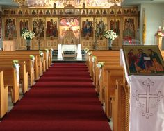 Wedding at the Greek Orthodox parish of Saints Constantine and Helen