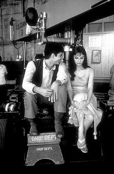 """Audrey Hepburn and Anthony Perkins on the set of """"Green Mansions"""" - IMDb"""
