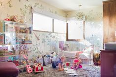 I don't usually pin nurseries because I'm afraid people will think I'm pregnant or something (I'M NOT), but holy moly, this nursery by Emily Henderson is fancier than ANYTHING in my house. And I love every bit of it.