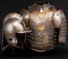 A Polish Hussar cuirass, 17th century