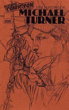 Michael Turner Sketchbook 2008, Spider-Man