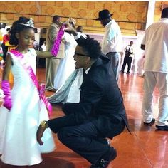 """""""❤️ cutest throwback pic of August and his niece at her father daughter dance ❤️ """""""