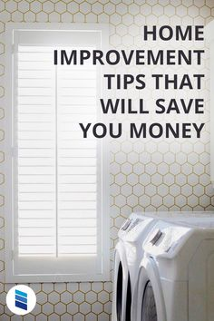 These small changes in your home can save you money on your energy bills! #moneysaving #energyeffifcient #homehacks #lifehacks #homedecor #renovation #remodeling Bathroom Window Treatments, Window Treatments Living Room, Living Room Windows, Cellular Blinds, Cellular Shades, Fix Leaky Faucet, Interior Window Shutters, Outdoor Shade