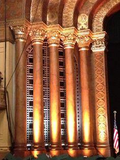 Sacramento Memorial Auditorium interior.  My very first concert was here.