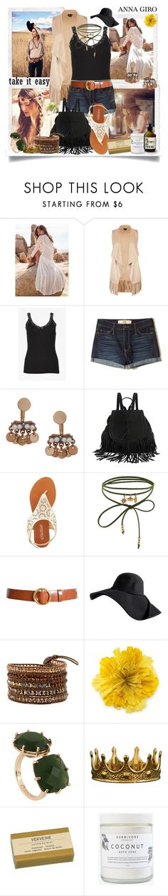 """Boho Girl"" by annagiro ❤ liked on Polyvore featuring City Chic, Hollister Co., Humble Chic, Olivia Miller, Accessorize, Frame, Gucci, Les Néréides, Seletti and Herbivore"