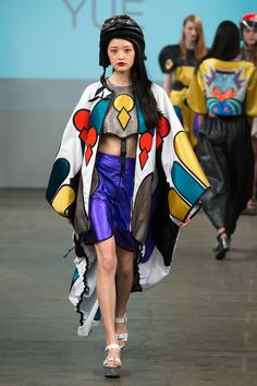 Winchester School of Art Graduate Fashion Show 2015. Click through to see full gallery on vogue.co.uk.